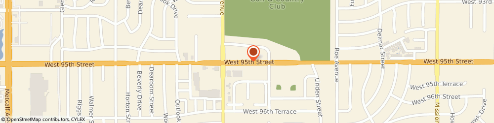 Route/map/directions to Audibel Center, 66207 Prairie Village, 5328 WEST 95TH STREET