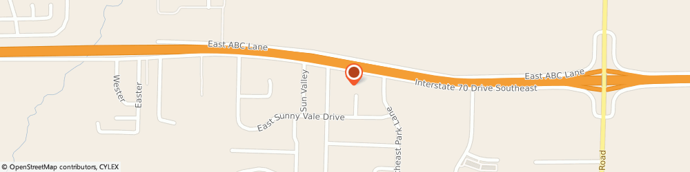 Route/map/directions to Wiese - Columbia, 65201 Columbia, 7710 E I-70 Drive Se