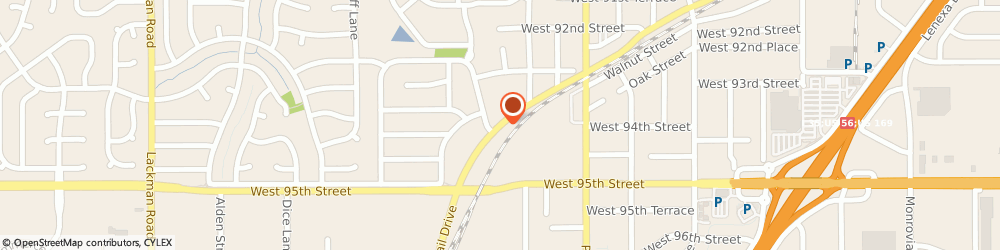 Route/map/directions to AccuTaxes, Inc., 66215 Lenexa, 13830 Santa Fe Trail Dr Ste 103