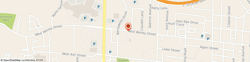 Route/map/directions to Westlake Ace Hardware, 65203 Columbia, 1910 W WORLEY ST