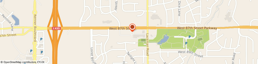Route/map/directions to ANB Bank, 66219 Lenexa, 15301 W. 87th Street Parkway