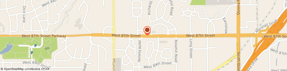 Route/map/directions to Bank Of The West, 66215 Lenexa, 13080 W 87TH STREET PKWY