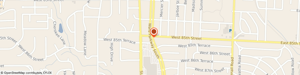 Route/map/directions to US BANK, 64114 Kansas City, 8500 WARD PARKWAY