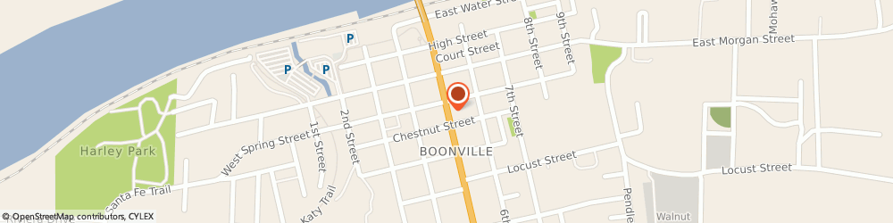 Route/map/directions to Navy Federal Credit Union, 65233 Boonville, 412 Main Street