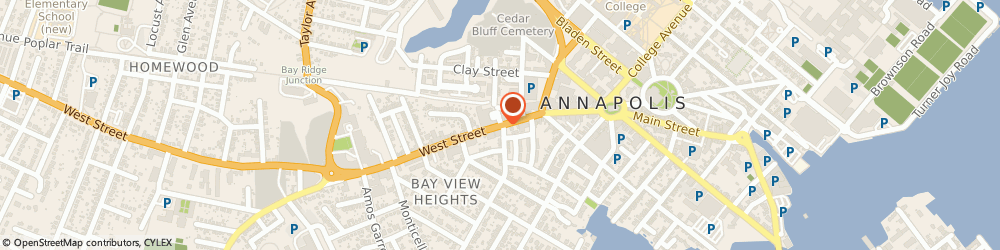 Route/map/directions to Navy Federal Credit Union ATM, 21401 Annapolis, 116 West Street