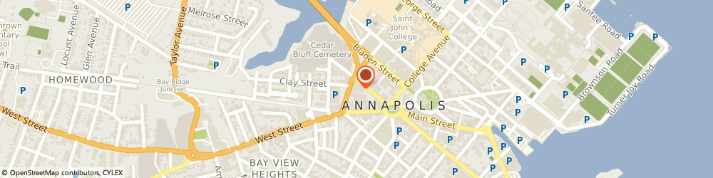 Route/map/directions to Navy Federal Credit Union ATM, 21401 Annapolis, 44 Calvert Street
