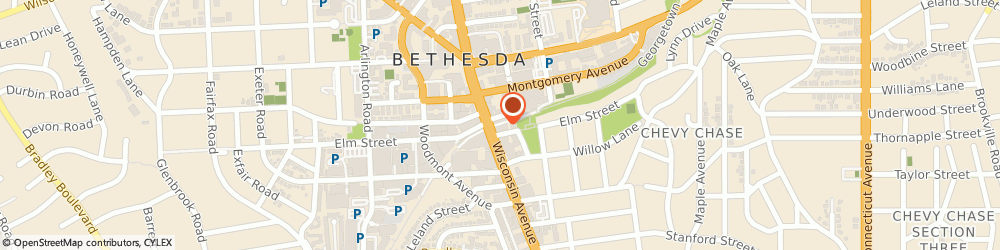 Route/map/directions to Citibank ATM, 20814 Bethesda, 7315 Wisconsin Avenue