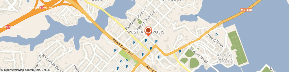 Route/map/directions to Navy Federal Credit Union ATM, 21401 Annapolis, 111 W St