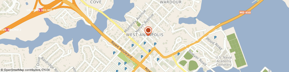 Route/map/directions to Natural Healing Incorporated, 21401 Annapolis, 100  ST