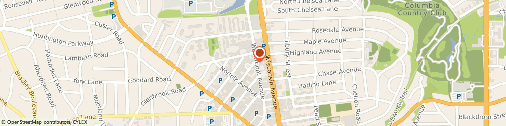 Route/map/directions to CITIBANK ATM, 20814 Bethesda, 4831 Cordell Ave