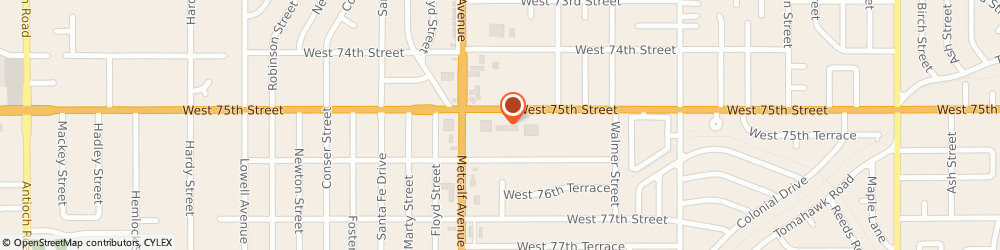 Route/map/directions to Subway Sandwiches & Salads, 66204 Overland Park, 6957 WEST 75TH STREET