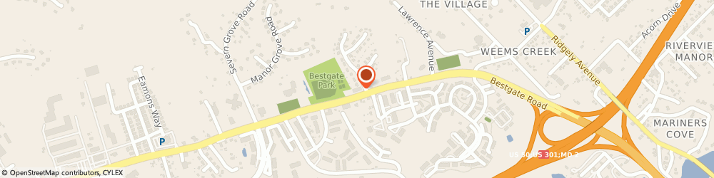 Route/map/directions to Navy Federal Credit Union ATM, 21401 Annapolis, 710 Bestgate Rd