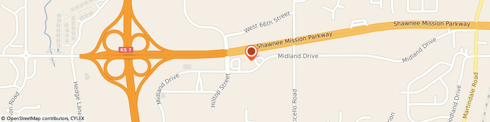 Route/map/directions to Christian Brothers Automotive Shawnee, 66226 Shawnee, 22240 Midland Drive