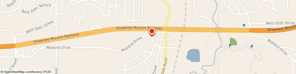 Route/map/directions to PEAVLERS SERVICE, 66218 Shawnee, 20707 Midland Dr