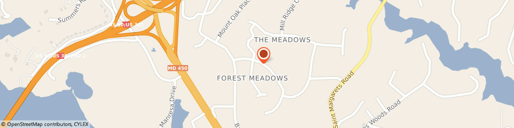 Route/map/directions to Severn Insurance LTD, 21409 Annapolis, 207 Meadowgate Dr
