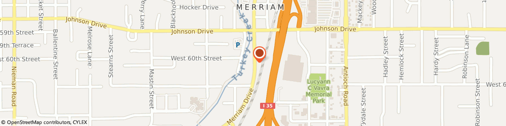 Route/map/directions to Macek's Auto Service, 66203 Shawnee, 6032 Merriam Dr