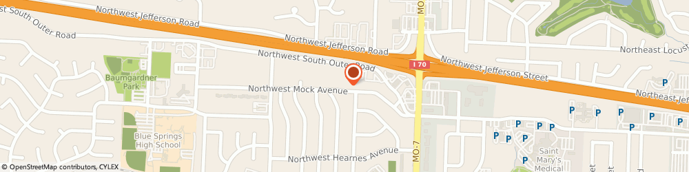 Route/map/directions to Safeco Insurance Agent, 64015-3064 Blue Springs, 1000 Nw South Outer Rd