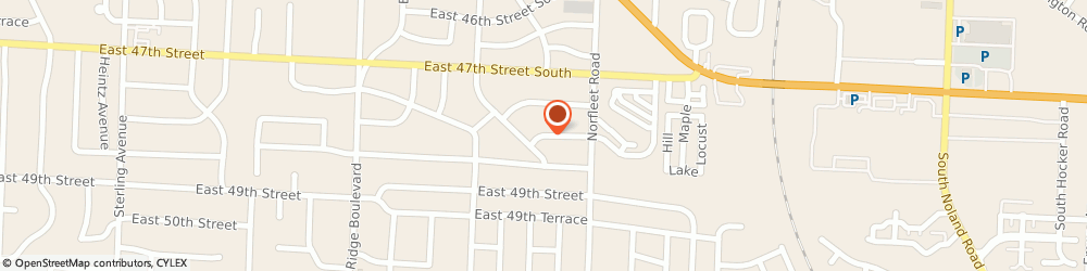 Route/map/directions to Natures Pantry, 64055 Independence, 19019 E. 48th Street