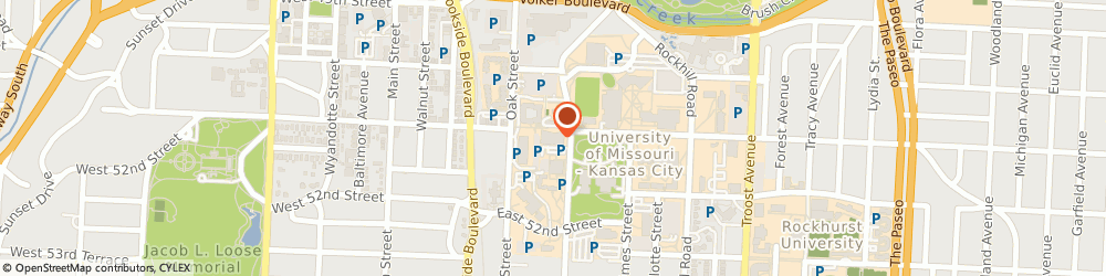Route/map/directions to US BANK, 64110 Kansas City, 5100 ROCKHILL ROAD, ROOM 212, STUDENT UNION