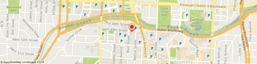 Route/map/directions to US BANK, 64112 Kansas City, 4901 MAIN STREET
