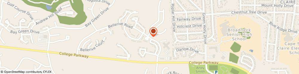 Route/map/directions to Gabriel Kathy b Ph d, 21401 Annapolis, 588 BELLERIVE DRIVE
