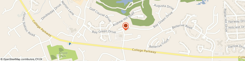 Route/map/directions to Bay Hills Eye Care Center, 21012 Arnold, 1294 BAY DALE DR