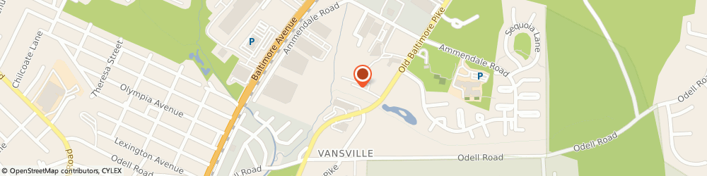Route/map/directions to Eaton Aerospace Group, 20705 Beltsville, 11642 Old Baltimore Pike