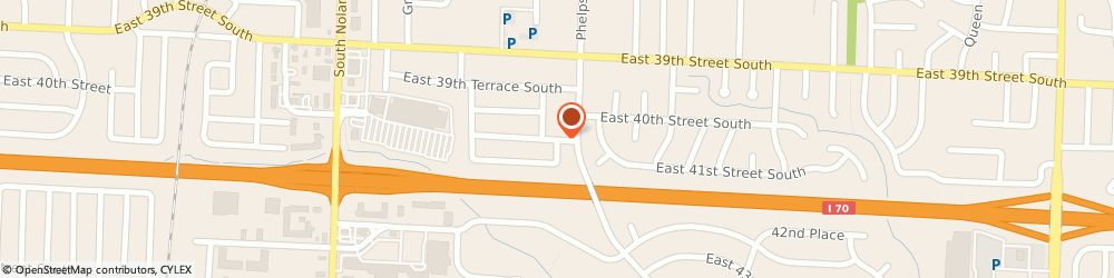 Route/map/directions to Kellers Flowerhaus & Landscaping Incorporated, 64055 Independence, 15640 EAST 40TH TERRACE SOUTH