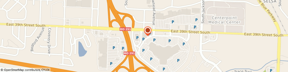 Route/map/directions to Rally House Independence, 64057 Independence, 18701 E 39th Street