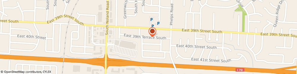 Route/map/directions to Advanced Stucco Applications, 64055 Independence, 14501 EAST 39TH TERRACE SOUTH