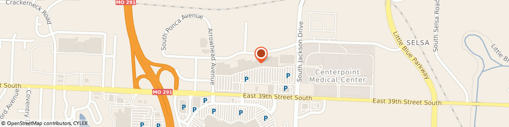 Route/map/directions to Life Uniform INDEPENDENCE, 64057 Independence, 19010B East 39Th Street