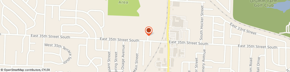 Route/map/directions to Mid-Continent Public Library - South Independence Branch, 64055 Independence, 13700 E. 35th Street