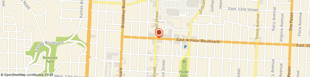 Route/map/directions to US BANK, 64111 Kansas City, ONE WEST ARMOUR BOULEVARD