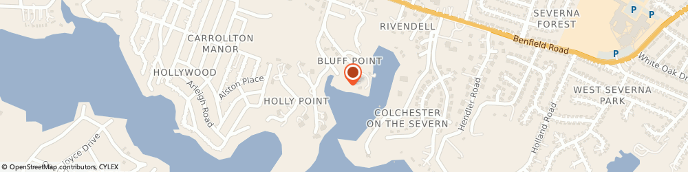Route/map/directions to SEVERNA PARK YACHT BASIN LLC, 21146 Severna Park, 454 Severn Rd