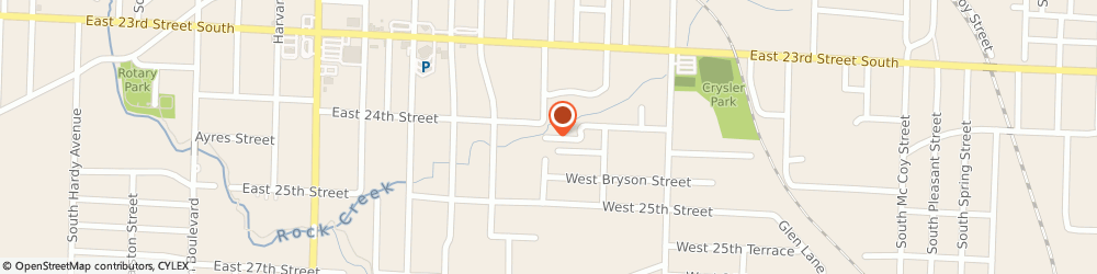 Route/map/directions to Coops Extreme Custom Pain t, 64052 Independence, 1622 WEST 24TH TERRACE SOUTH