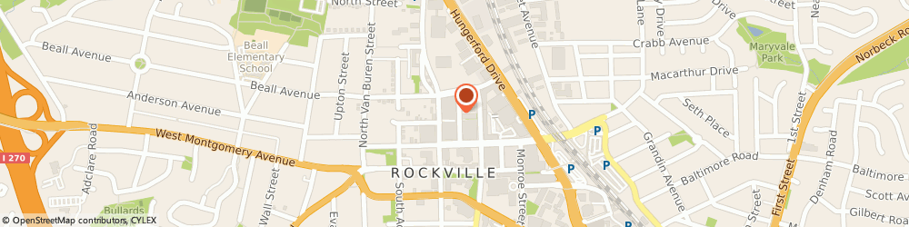 Route/map/directions to Five Guys, 20850 Rockville, 130 Gibbs St.