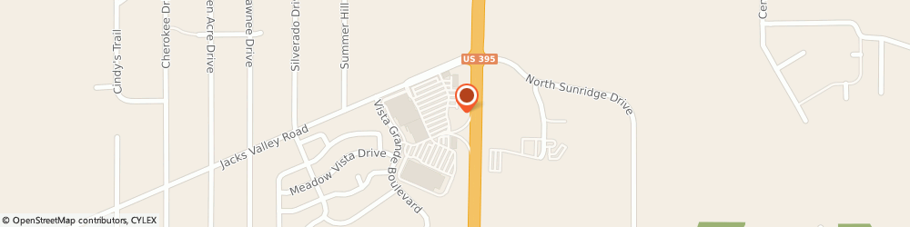 Route/map/directions to United Federal Credit Union, 89705 Carson City, 935 Jacks Valley Rd