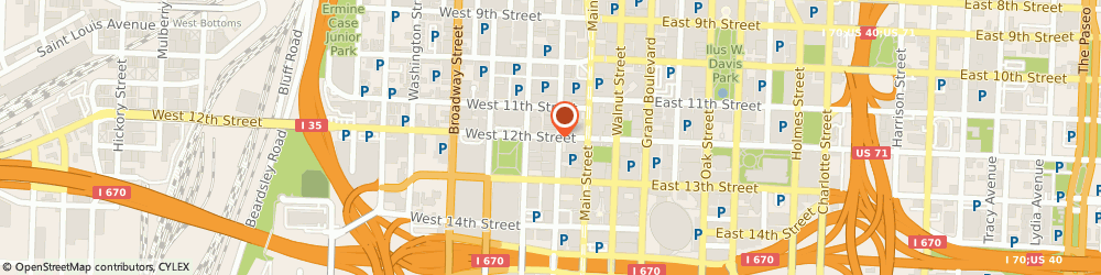 Route/map/directions to US BANK, 64105 Kansas City, 120 WEST 12TH STREET