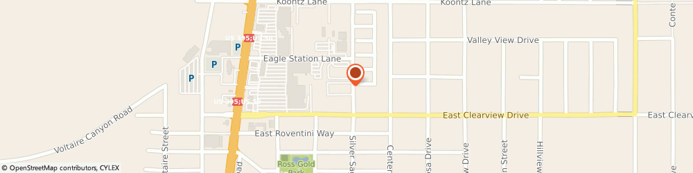 Route/map/directions to Greater Nevada Mortgage Services, 89701 Carson City, 4070 Silver sage Dr
