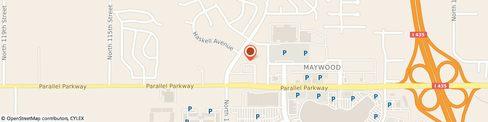 Route/map/directions to The UPS Store, 66109 Kansas City, 10940 Parallel Pkwy