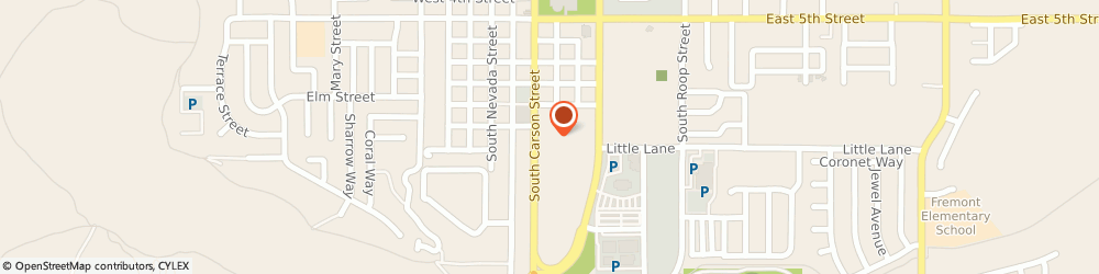 Route/map/directions to Edward Jones - Financial Advisor: Michael D Haakinson, 89701 Carson City, 1079 S Carson Street