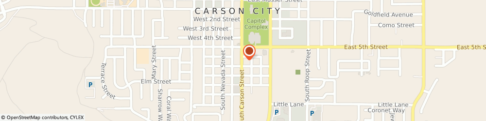 Route/map/directions to Century 21 Heritage West, 89701 Carson City, 603 SOUTH CARSON STREET