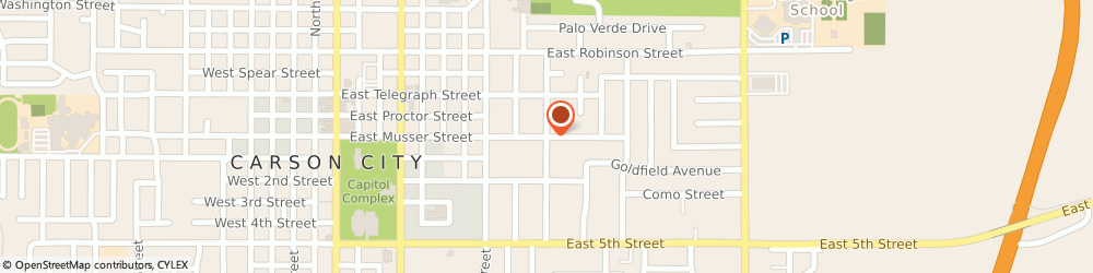 Route/map/directions to Annies Bail Bonds, 89701 Carson City, 812 E. Musser Street