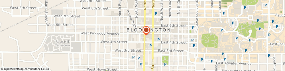 Route/map/directions to Safeco Insurance Agent, 47404-5163 Bloomington, 100 S College Ave Ste 230