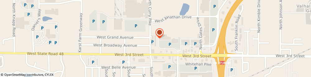 Route/map/directions to Acceptance Insurance, 47404 Bloomington, 3874 W 3rd St