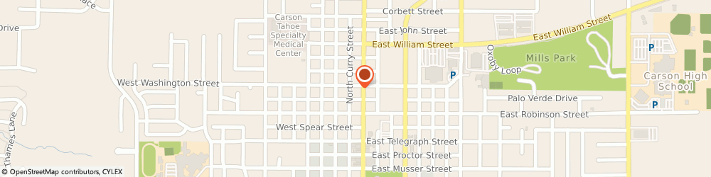 Route/map/directions to RE/MAX Carson City, 89701 Carson City, 716 N. Carson St. Suites C and D