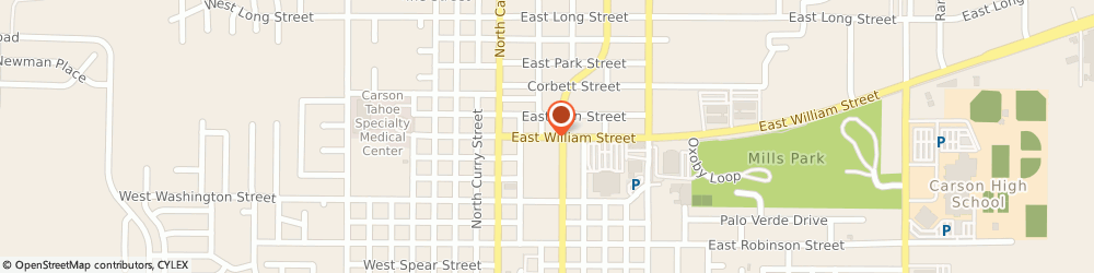 Route/map/directions to Nevada Bail Bonds, 89701 Carson City, 310 E WILLIAM ST