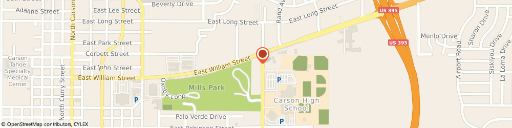 Route/map/directions to CITIBANK ATM, 89701 Carson City, 1465 E. William St