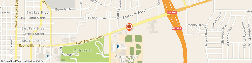 Route/map/directions to AutoZone Auto Parts, 89701 Carson City, 1681 Us Highway 50 E