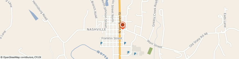 Route/map/directions to PNC BANK, 47448 Nashville, 37 W Main St